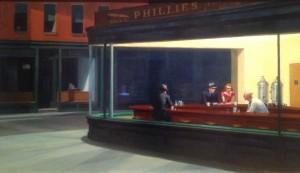 Hopper's nighthawks
