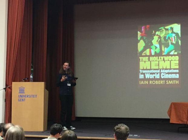 Keynote speaker Iain R. Smith