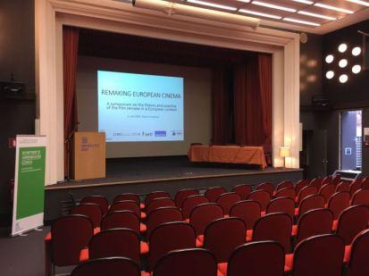 The conference venue